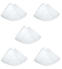 5 Central Vacuum Cleaner Short 90 Fittings For All Central Vacuum Systems Including: Electrolux  ...