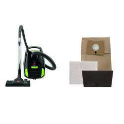 Bag and Filter Replacement Kit Bundle – Zing Bagged Canister Vacuum + Bag and Filter Repla ...