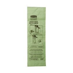 Rubbermaid Commercial Upright Vacuum Cleaner Replacement Bag, FG9VMHBA12 (Pack of 10)