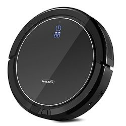 INLIFE i7 Self Charging Robotic Vacuum Cleaner with Strong Suction, Drop Sensing Technology for  ...