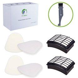 I-clean 2 Packs Filter Kits For Shark Navigator Lift-Away (NV352 NV355 NV356E NV350 NV351 ) ,Rep ...