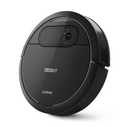 ECOVACS Deebot N78 Robot Vacuum Cleaner with Direct Suction, Sensor Navigation for Pet Hair, Fur ...