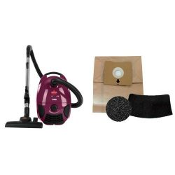 Filter Replacement Bundle – BISSELL Zing Bagged Canister Vacuum, Maroon, 4122 – Cord ...