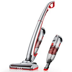 Deik Vacuum Cleaner, 2 in 1 Cordless Vacuum Cleaner, Cordless Vacuum with High-power and Long-la ...