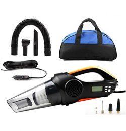 LEAJIA Car Vacuum Cleaner,4 in 1 Handheld Vacuum–Portable Vacuum Wet/Dry DC 12V 100W 3500  ...
