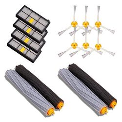 GHB 14PCS Accessories for iRobot Roomba 880 860 870 871 980 990 Replenishment Parts Spare Brushe ...