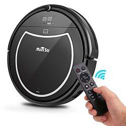Robotic Vacuum Cleaner, Minsu 2000mAh Large Capacity Li-battery Smart Automatic Self-Charge Remo ...
