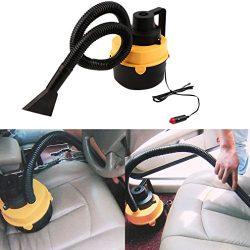 12V Wet Dry Vacuum Cleaner Inflator Portable Turbo Hand Held for Car UY