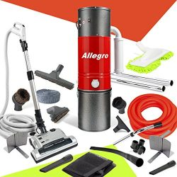Allegro MU4500Champion – 6,000Square Foot Home Central Vacuum System 30 Foot Electric Hose