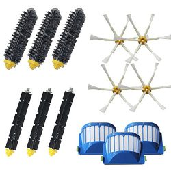 Amyehouse Accessory Replacement Kit of Bristle Brushes & Flexible Beater Brushes & 6-Arm ...