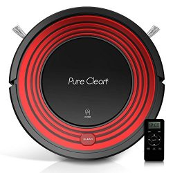 PureClean Robot Vacuum Cleaner with Programmable Self Activation and Automatic Charge Dock ̵ ...