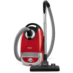 Miele Complete C2 Hard Floor Canister Vacuum Cleaner with SBD285-3 Combination Rug and Floor Too ...
