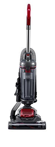 Black+Decker BDASV102 Airswivel Ultra Light Weight Upright Vacuum Cleaner, Versatile Vacuum