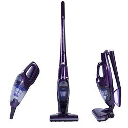 NPOLE 2-in-1 Cordless Upright Vacuum Cleaner Rechargeable Bagless Stick and Handheld Vacuum for  ...