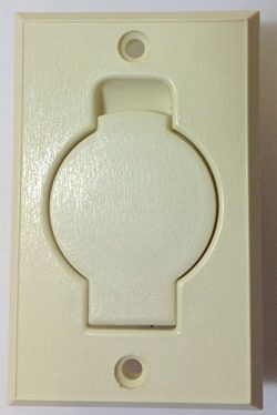 Central Vacuum Inlet Valve – Built in Central Vacuum System Wall Mount Inlet Valve – ...