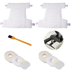 2pcs Shark HV300 Pads , Hongfa Replacement Shark HV300,HV301,HV310 Vacuum Cleaner Accessories Pa ...