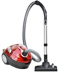 Dirt Devil Tattoo Crimson Bouquet Bagged Canister Vacuum, SD30040BB – Corded