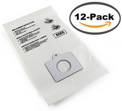 12-pack of Kenmore Type C Compatible Canister Vacuum Bags – Fits All C,Q, and Panasonic C- ...
