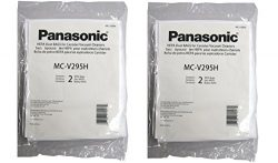 Panasonic MC-V295H Type C-19 Canister HEPA Vacuum Bag, Pack of 4