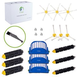 I-clean For Roomba 650,620,630,770 Vacuum Cleaner Accessories, 15Packs Replacement iRobot Roomba ...