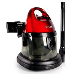 Pure Clean Compact Wet Dry Vacuum | Multi-Surface Bag-Less Vacuum Cleaner – Corded Vac (PU ...