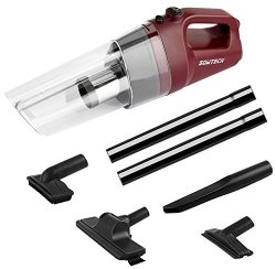 Cordless Handheld Vacuum SOWTECH 4.0kPa Cyclonic Suction Lightweight Vaccum Cleaner with 80W Mot ...