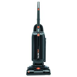 Hoover Commercial CH53005 TaskVac Hard-Bagged Lightweight Upright Vacuum, 13-Inch