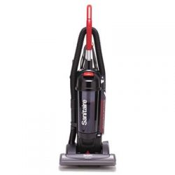 EUR5845 Sanitaire True HEPA Commercial Bagless/Cyclonic Upright Vacuum, Red