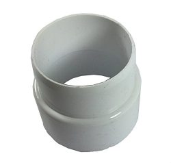 INLET VALVE EXTENSION: pvc Central Vacuum System Pipe Inlet Extender. 1 PIECE