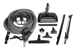 Cen-Tec Systems 91574 Central Vacuum Accessory Package with CT23QD Electric Brush