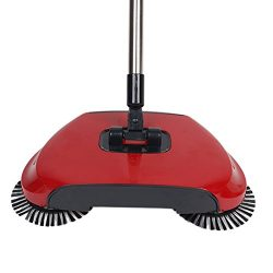 360 Degree Rotating Household Automatic Hand Push Sweeper Broom, Multi-Functional Profession Vac ...