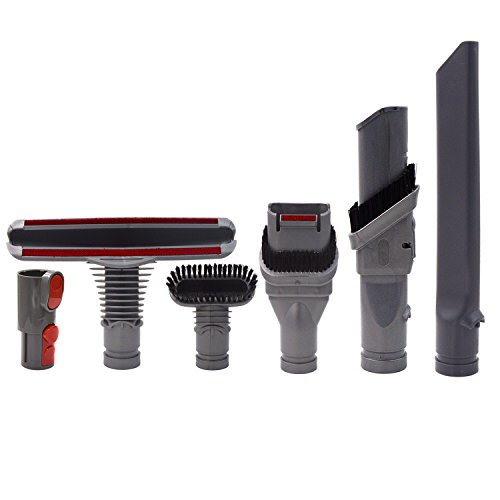 dyson v8 attachments tools kit for dyson v8 absolute v8 animal v7 absolute cord free vacuum. Black Bedroom Furniture Sets. Home Design Ideas