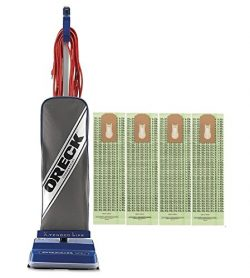 Oreck Commercial XL2100RHS 8 Pound Vacuum with 4 Bags Bundle – Blue