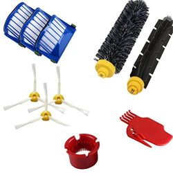 Agile-shop Accessory for Irobot Roomba 650 Series Vacuum Cleaner Replacement Part Kit – In ...