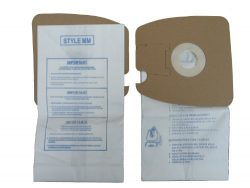 18 Envirocare Style MM Vacuum Bags to fit Eureka, Replaces Part# 60295C (Mighty Mite Vacuums)
