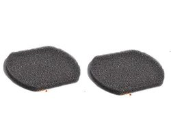 2 Bissell 3-in-1 Stick Vacuum Cleaner Sponges Foam Genuine Filter Part # 2037424