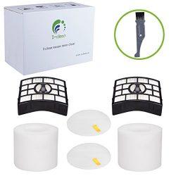 I-clean 2 Packs Hepa Filters for Shark Rotator Powered Lift-Away TruePet (NV752 NV751 NV650 NV65 ...