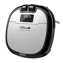 Robot Vacuum Cleaner, HoLife Automatic Charge Schedule Cleaning Auto-Detection Vacuum Cleaner wi ...