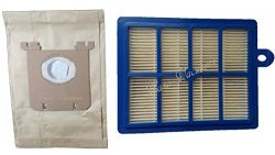 8 Electrolux Type S Bags + 1 H12 HEPA Filter fits all Electrolux Oxygen – Harmony –  ...