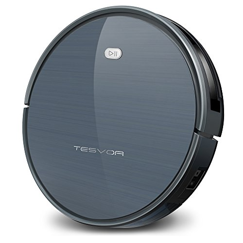 Tesvor Robot Vacuum Cleaner, X500 Robotic Vacuum with One-Key Planning Tech, Powerful Clean for  ...