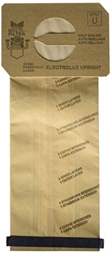 Electrolux Style U Discovery Upright Vacuum Cleaner Bags – 12 bags per Pack