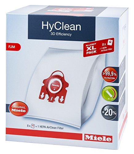 Miele Xl Pack 8x Miele Hyclean 3d Fjm Vacuum Bags 1