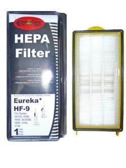 (1) 60285 Eureka HF9 Hepa Pleated Vacuum Filter, Bagless Cyclonic, Heavy Duty Upright, Self Prop ...
