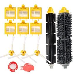 efluky Replacement Accessories Kit for Roomba 700 Series 700 760 770 780 790- Includes 6 Pack Fi ...