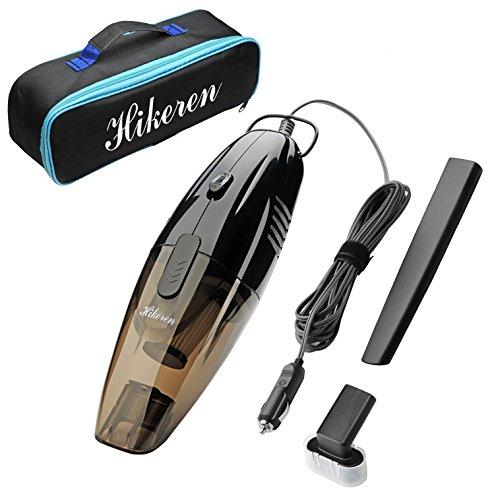 Car Vacuum Cleaner,Hikeren 12V 75W Black Car Vacuums Mini Portable Handheld Automotive/Auto Vacu ...