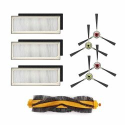 ECOVACS Accessory Kit for DEEBOT M80, M80 Pro Robotic Vacuum Cleaner – Filter, Brush