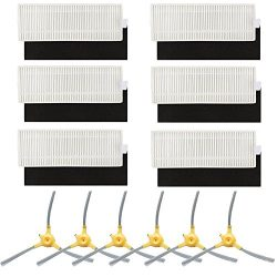 Replacement Parts for Eufy 11+ 11 Plus Robovac Vacuum Cleaner Accessories – Filters and Si ...