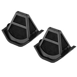 Housmile Anti-Mite UV Vacuum Cleaner Advanced Filters for YJ-3005E, Black(2-pack)