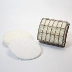 HEPA Filter and Foam & Felt Filter for Shark XFF80 XHF80 Upright Vac Vacuum Cleaner Models N ...