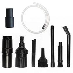 """1-1/4inch & 1-3/8"""" Attachments Universal Mini Micro Tool Attachment 8 Piece Set for Eu ..."""